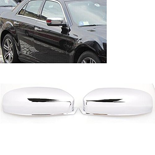 Hot Sale For 2011-2014 Chrysler 300 / 300c Triple Chrome Side Door RearView Mirror Cover Trim