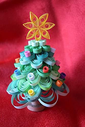 Albero Di Natale Quilling.Albero Di Natale Tecnica Quilling Amazon It Handmade