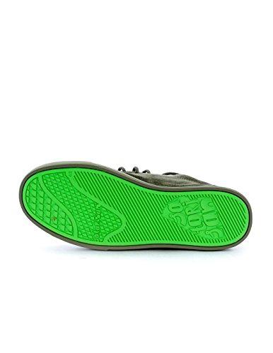 Derby Satorisan Koa Puntale Deep Khaki Scarpe Suede 172008 Verde Verdone Uomo Lacci BwBF8qf