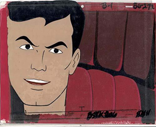 Superman/Batman Hour Original Animation Cel with Production Background
