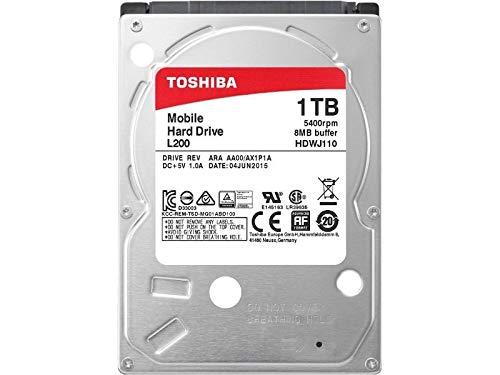 Toshiba L200 1TB HDD 1000GB Serial ATA II Internal Hard Drive