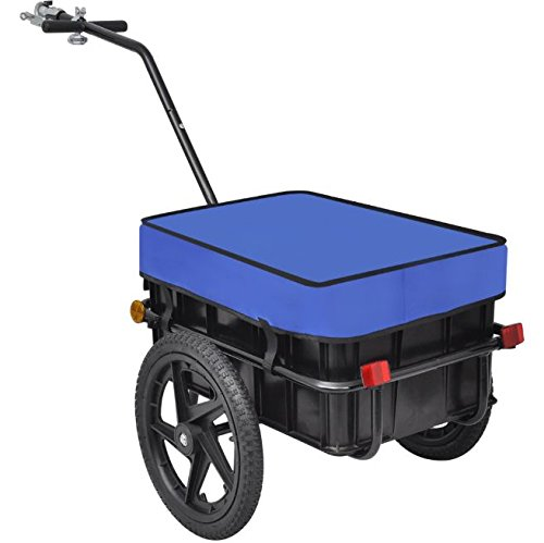 SKB Family Bike Cargo Trailer/Hand Wagon Blue 15 gal New Luggage Carrier
