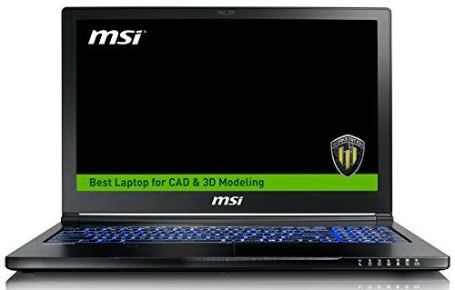 MSI WS63VR 7RL-023US (i7-7700HQ, 32GB RAM, 512GB NVMe SSD + 2TB HDD, NVIDIA Quadro P4000 8GB, 15.6
