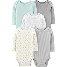Simple Joys by Carter's Baby 5-Pack Long-Sleeve Bodysuit