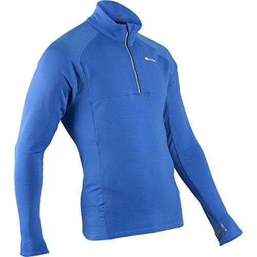 Zip Midzero Shirt Sugoi (SUGOi Men's MidZero Zip Shirt, True Blue/Black, Large)