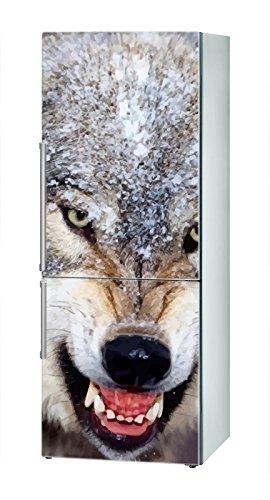Decusto - Angry Wolf - Adhesivo para Decorar Tu Nevera: Amazon.es ...