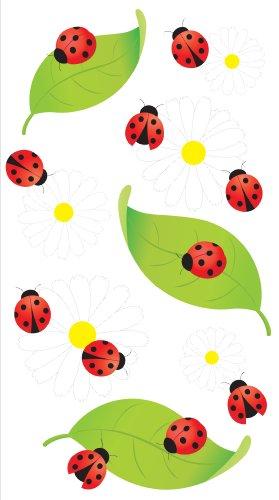 EKS Jolee's Boutique Vellum Stickers, Ladybugs