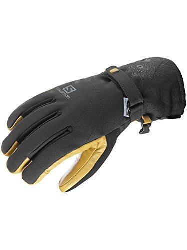 Salomon Women's Propeller Dry Gloves, Black/Natural, Medium