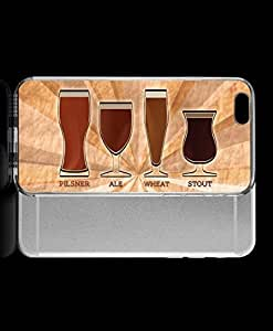 Janmaons iPhone 6 Case - Digital Art Beer Types Case for iPhone ZunXJ
