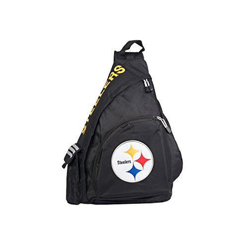Officially Licensed NFL Pittsburgh Steelers Leadoff Slingbag