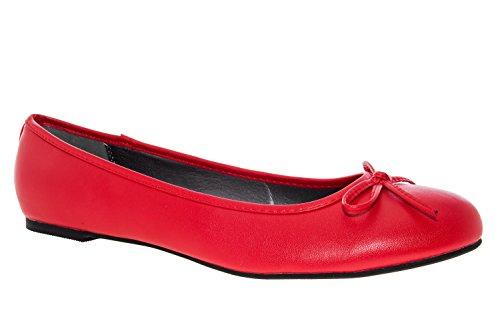 Rouge Size Diffrentes Plus Machado Woman Classique 45 Andres Dans Ballerine Similicuir Textures Tg104 42 FOw8qR