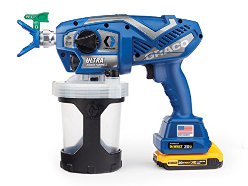 - Graco Ultra Cordless Airless Handheld Paint Sprayer 17M363