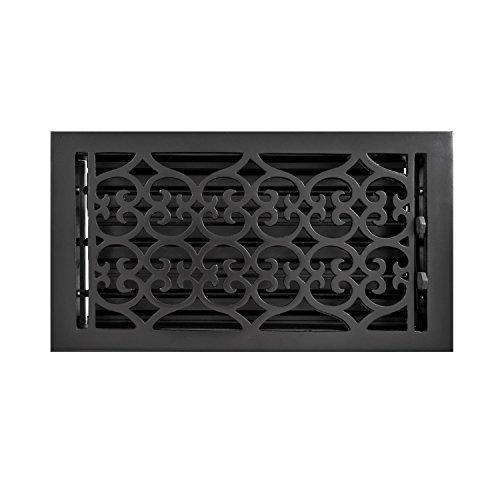 6 x 12 cast iron floor register - 2