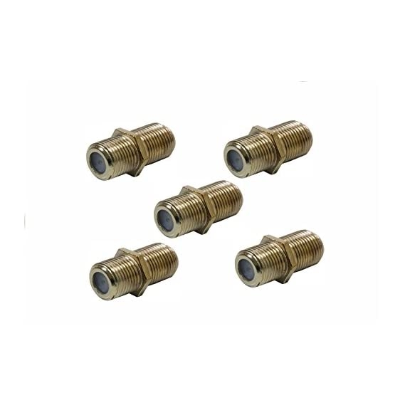 Generic Cable Jointer Cable Extension Female Adaptor Rg6, Rg59