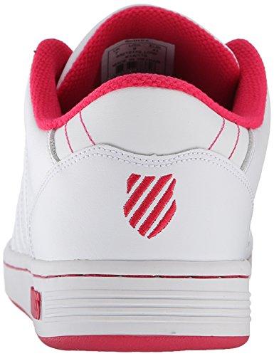 Baskets Blanc white swiss Femme 172 K Weiß rapsberry M Basses Lozan Iii HqIwwz0Bx