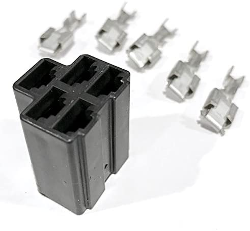 [DIAGRAM_5LK]  Amazon.com : (10 Pack) Delphi 56 Series Metri-Pack 5-Way Female Connector  02973422 +TERMINALS - Made in The USA! - HD Switch : Garden & Outdoor | Delphi Wiring Harness Connectors |  | Amazon.com
