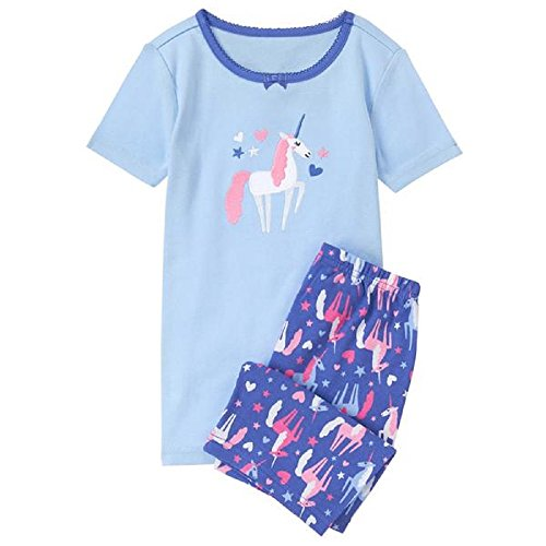 Gymboree Baby Girls Unicorn 2-PC Shorty Pajamas (12-18 Months)