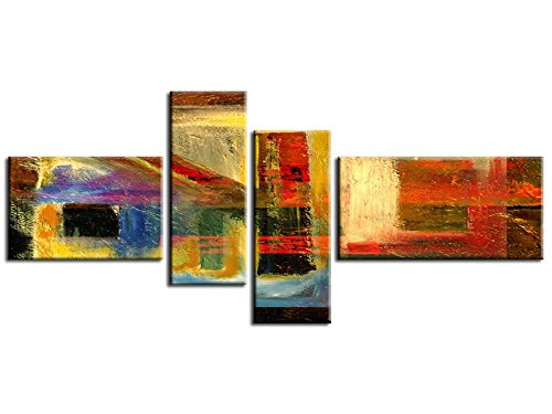 Rouge  Hexoa Tableau Abstrait Krouze - Top VENTE-1A-1287HX16U-V