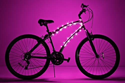 Brightz CosmicBrightz LED Bicycle Frame Light, Pink
