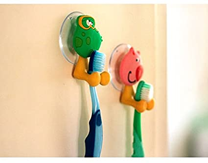 Rainbow amor creativo dibujos animados pasta de dientes cepillo de dientes Holder.