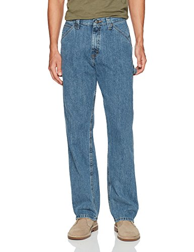 LEE Men's Dungarees Losse-Fit Carpenter Jean - 36W x 29L - Stonewash