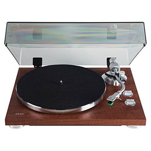 Teac TN-350-WA Walnut 2-Speed Belt Drive Analog Turntable w/USB Digital Output