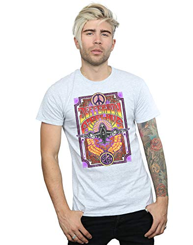 Absolute Live shirt Cult Concert Airplane Gris Sport In Homme Jefferson T rwrpPqA