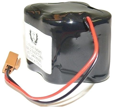 (Titan battery for Panasonic BR2/3AGCT4A Lithium 6V. PLC battery)