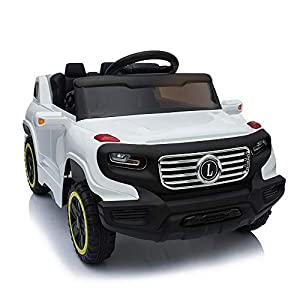 Best Epic Trends 41z-QE%2B9tLL._SS300_ Anshunyin Kids Ride On Cars Children Electric Cars Play Toys 12V Battery Powered Kids Vehicle 4 Wheeler for Outdoor with…