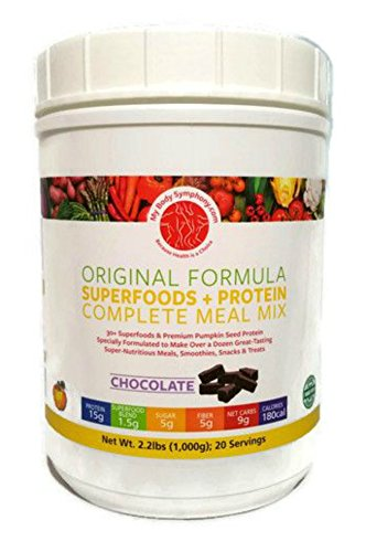 Organic Pumpkin Seed Protein + 30 Superfoods (Contains