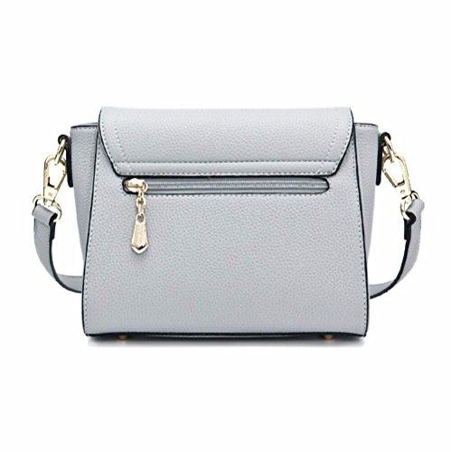 Bag Bluish New of Satchel Hundreds Fashion Shoulder Violet Slant Grey 2018 Single IOC1vqBdBw