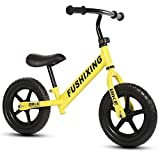 Pedal-less Balance For 2-6 Years Old Children Complete Bike For Kids Carbon,Yellow