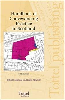 Book Handbook of Conveyancing Practice
