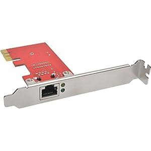Tripp Lite 1-Port Gigabit Ethernet (GbE) PCI Express (PCIe) Card, Low Profile (PCE-1G-01-LP)