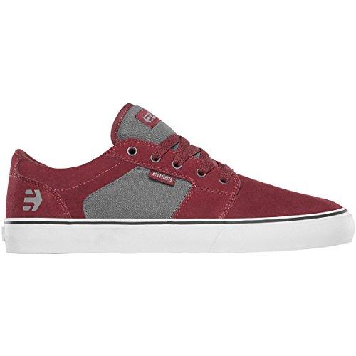 Etnies Barge LS Skateschuh Rot / Grau