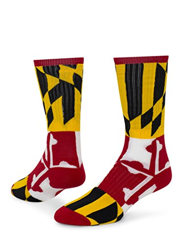 Red Lion Maryland Crew Sport Wear High Sock ( Multi Colored - Large )