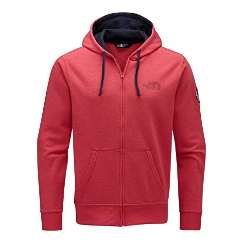 The North Face USA Full Zip Hoodie Men's TNF Red Heather