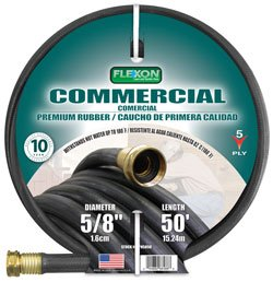 (Flexon PH5875 Commercial Premium Rubber Hose 5/8