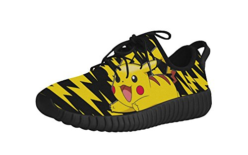 Mens Lace Up Shoes with Pikachu - Pikachu Mens Slippers