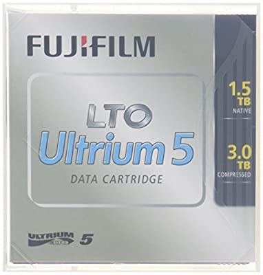 Fujifilm LTO Ultrium 5 1.5TB/3TB Cartridge w/case from FUJI FILM