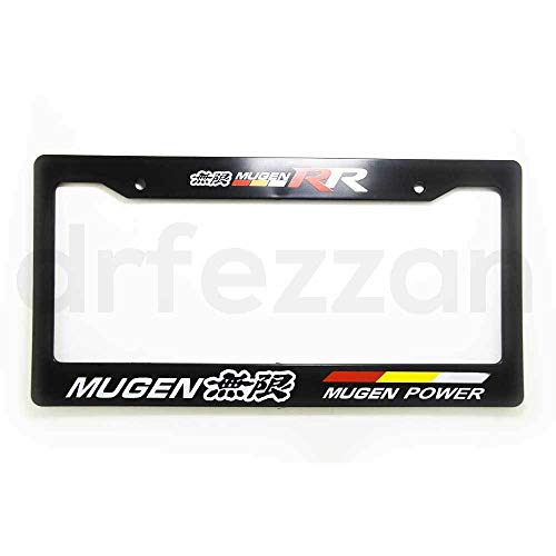 Brand New MUGEN POWER RR Racing ABS Black License