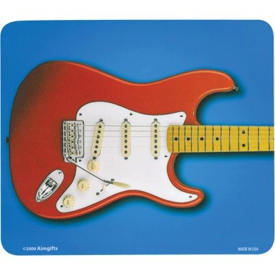 Price comparison product image Mouse Pad Red Electric Guitar