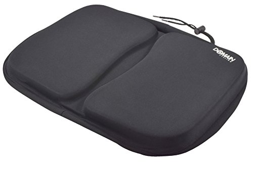 EXTRA Large Gel Exercise Bike Seat Cushion Cover, Stationary Recumbent Bicycle Rowing Machine - Domain Cycling