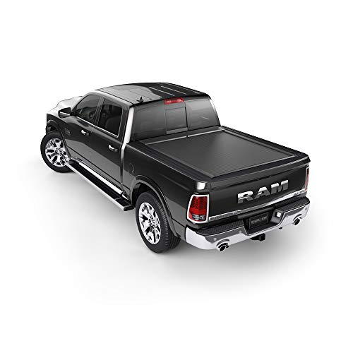 N-lock Roll Cargo (Roll-N-Lock BT401A Locking Retractable A-Series Truck Tonneau Cover for2019 Ram 1500 with 67.4