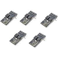 Xiuxin 1M Flash 5pcs ESP8266 ESP-01 WIFI Transceiver Wireless Module Compatible with Arduino