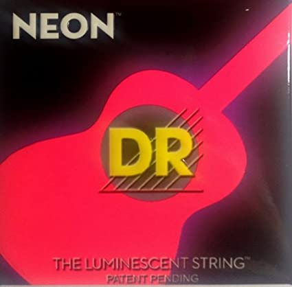 'Dr HiDef Red Neon Acoustic 010