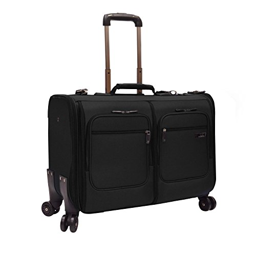 U.S. Traveler Stimson Carry-on Spinner Garment Bag, Black
