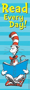Eureka Bookmarks Cat in the Hat for President 834209