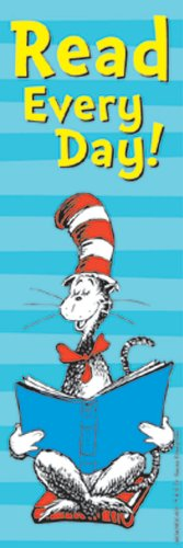 Dr Seuss Bookmark (Eureka Dr. Seuss Bookmarks, Set of 36, Cat in The Hat Read Every)