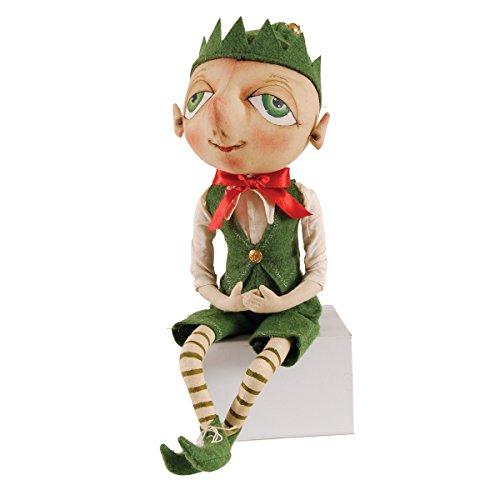 """Bartholomew"" Elf Figure Soft Sculpture Doll"